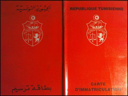carte consulaire tunisienne